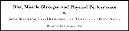 Estudio de Bergstrom y Hultman